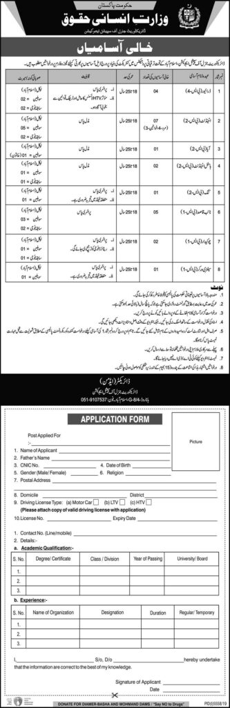 Ministry of Human Rights Jobs