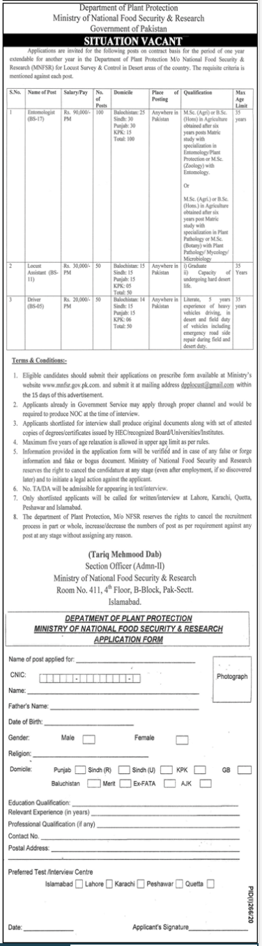 Food Security And Research Jobs