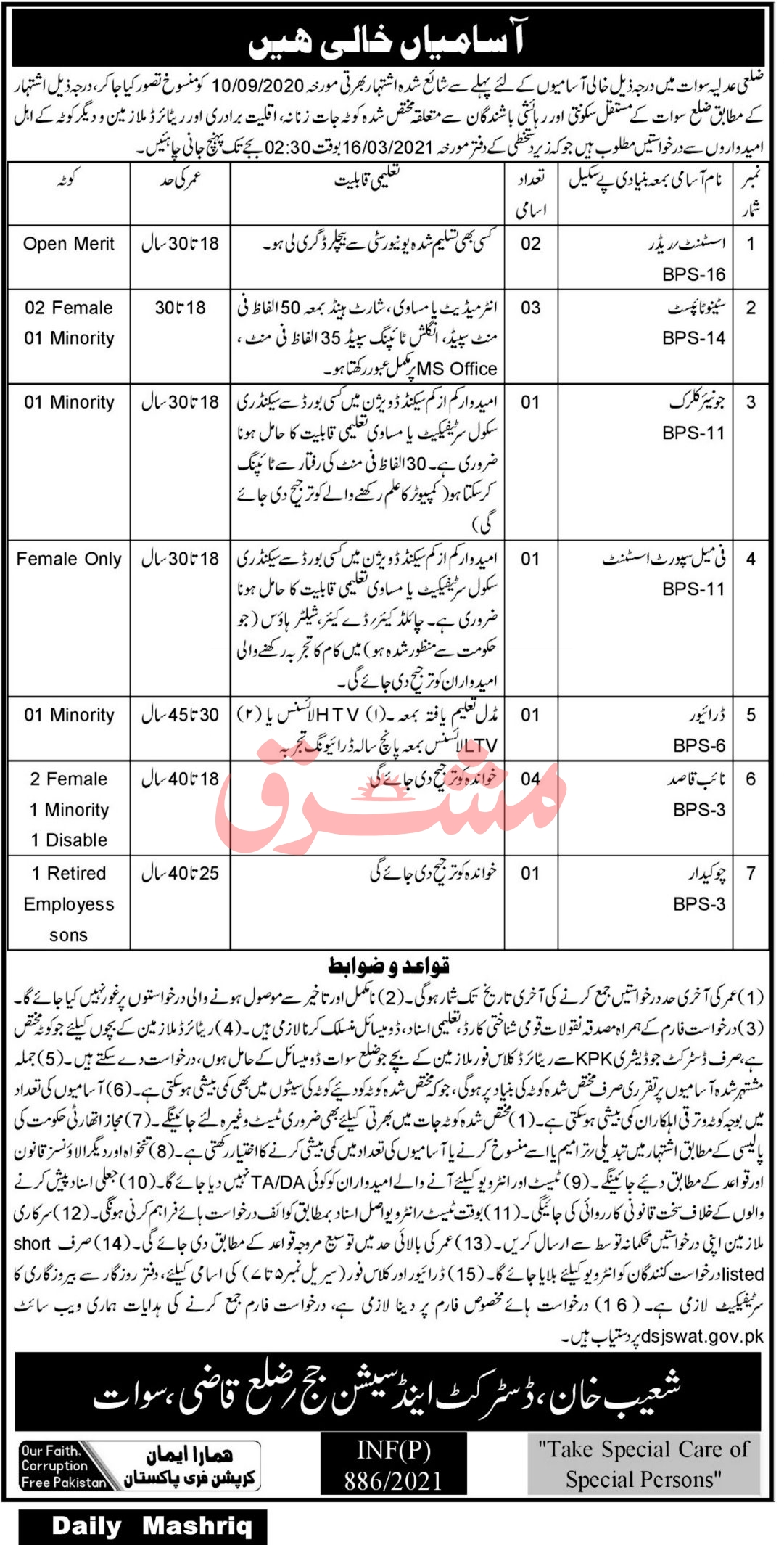 District and Sessions Court Jobs
